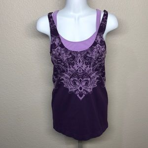 Athleta Workout Tank with Built in Bra